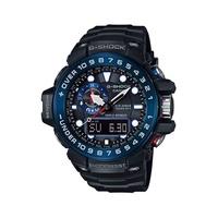 G-Shock Gulfmaster นาฬิกาข้อมือผู้ชาย สีดำ/น้ำเงิน สายเรซิ่น รุ่น GWN-1000B-1B