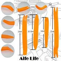【aife life】汽車音響工具四件組 塑膠扣拆裝飾板 音響面板 門版拆裝工具 DIY拆裝 踏板 內飾板 拆殼神器 汽車百貨用品