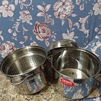 THERMOS膳魔師✨不銹鋼鍋子鍋具/多功能鍋中鍋/煮麵鍋(9成新)