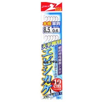[ ZENIS ] 蝦鉤 天平專用 單鉤10本 釣蝦 天平釣組