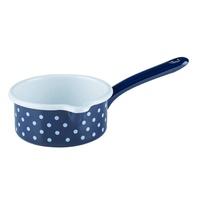 【RIESS】奧地利鄉村少女琺瑯單柄牛奶鍋/醬料鍋0.5L