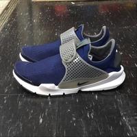 NIKE SOCK DART 藍色 灰色 藍灰 藍襪 編織 襪子 沙大 襪套 慢跑鞋 819686-401