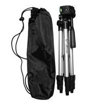 Microeco Compact Lightweight Aluminum Flexible Tripod + FREE Mobile Holder And Tripod Bag