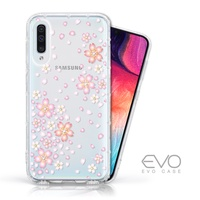 EVO CASE Samsung Galaxy A50 奧地利水鑽殼 - 櫻花