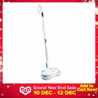ALBOHES MOP860 Cordless Rechargeable Dual Spin Electric Mop Floor Cleaner