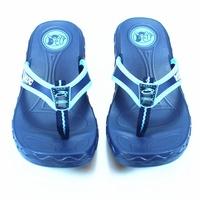 ☆麻吉鞋坊☆ 台灣製造360度c輕量防水止滑拖鞋(藍)(1-4)【1236】