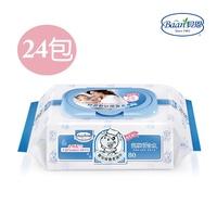 貝恩 Baan 嬰兒保養濕紙巾(箱購80抽24包) 米菲寶貝