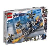 樂高LEGO 超級英雄系列 - LT76123Captain America: Outriders Attack