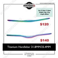 Titanium handlebar / Speedway / DYU / Tempo / Fiido / Venom / Mini 3/4