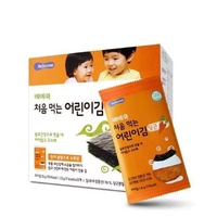 韓國 BEBECOOK 智慧媽媽 幼兒紅蘿蔔海苔10包/盒(15g)★衛立兒生活館★