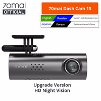 Original Xiaomi 70MAI 1S Smart Dash Cam HD Night Vision G-sensor Car Recorder