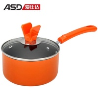 ASD Non-stick Pot Milk Pot Aluminium Alloy Cook Instant Noodles Pot Fuel Gas Electromagnetic Furnace Universal Stew Pot Baby Food Supplement Pot