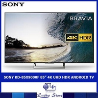 "SONY KD-85X9000F 85"" 4K UHD HDR ANDROID TV"