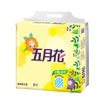 【五月花】花園版抽取式衛生紙100抽*8包*6袋/箱