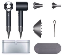 Dyson Supersonic Hair Dryer (Black/Nickel) with Platinum Case