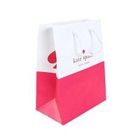 Kate Spade Authentic Shopping Gift Bag (Small Pink and White)