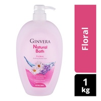 Ginvera Natural Bath Shower Foam - Floral