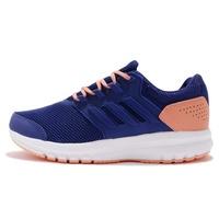 adidas 慢跑鞋 Galaxy 4 K 藍 粉紅 白底 低筒 輕量 基本款 女鞋 大童鞋 CQ1811 【ACS】