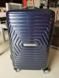 Samsonite 55cm Astra Spinner Navy blue