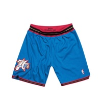 Mitchell & Ness / NBA 球員版球褲 PHILADELPHIA 99-00 ALTERNATE 76人