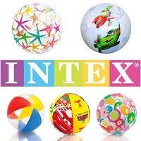 INTEX ลูกบอลชายหาดลูกบอลชายหาดลูกบอลเด็กเรียนรู้เบื้องต้นว่ายน้ำโปโลน้ำลูกบอลน้ำ