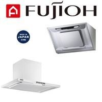 (MADE IN JAPAN) Fujioh 90cm Chimney Hoods (FR-CL1890R/FR-SC1790R)[Metallic Silver/Rich Silver/White]