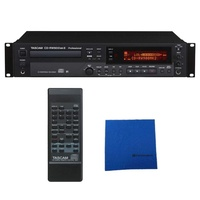 Tascam CD-RW900mkII CD Recorder Player with Microfiber