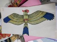 🚚 Traditional Chinese small kite Eagle 中国传统工艺小风筝 A4 size #MRTBishan