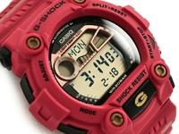 G-SHOCK G打擊G打擊限定七福神型號財神爺型號返銷進口海外型號CASIO卡西歐數碼手錶紅G-7900SLG-4DR G-7900SLG-4 G-SUPPLY