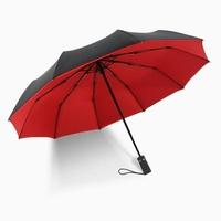 全自動雙層雨傘超大加固十骨抗風折疊傘男女晴雨兩用雙人遮陽傘   LannaS