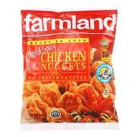 [Bundle of 12 Packets] Farmland Chicken Nuggets Hot & Spicy 12x400g