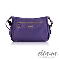 eliana - Gina系列休閒斜背包(優雅紫)EN129S04PL