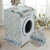 Haier Panasonic Littleswan Sanyo Midea LG Fully Automatic Impeller Roller Washing Machine Cover Fabric Sun-resistant Fashion Cover