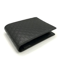 mp 4393 New Gucci GG Men's Wallet in Black Leather