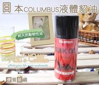 ○糊塗鞋匠○ 優質鞋材 L33日本Columbus液體貂油噴霧 隨身瓶 Mink Oil Spray 女人我最大推薦