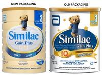 SIMILAC ® GAIN PLUS STAGE 3 1.8KG