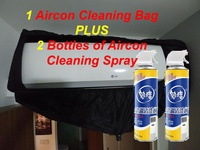 DIY Airconditioner Servicing / Aircon Cleaning Bag / Aircon Cleaning Spray