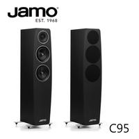【公司貨】JAMO C95 落地式喇叭(緞面黑色)