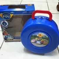 現貨 Poli波力停車場玩具