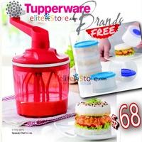 TUPPERWARE Speedy Chef 1.35Lwith box [FREE Magic Tower] NASI LEMAK BURGER Whisk Mixer No electricity