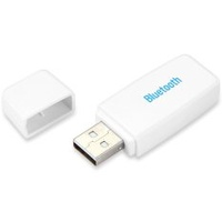 Bluetooth 2.0 A2DP USB Audio Music Receiver with 3.5mm Interface(White) - intl