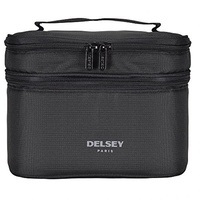 Direct from Germany -  Delsey travel accessories beauty case 2 compartments S (color: black)