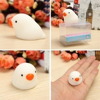 Fat Pigeon Squishy Squeeze Cute Healing Toy Kawaii Collection Stress Reliever Gift Decor