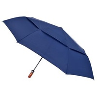 【2mm】紳士潮流雙層抗風 超大傘面自動開收傘 (深情藍)