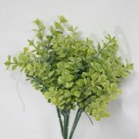 *台灣造花* 【人造植物】~小5圓角草~*花藝設計 仿真四葉草 植生牆材料 塑膠假葉 居家生活裝飾