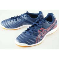 足球室內五人足球鞋亞瑟士CALCETTO WD 7 TST334-400 DEEP OCEAN Soccer Pro-Shop Players