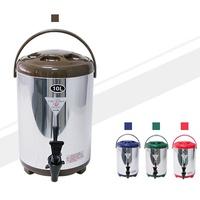【酷愛生活小舖】10L牛88茶桶 保溫保冷茶桶 不鏽鋼茶桶 四色可挑-10L