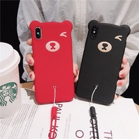 Oppo R11 R11S R11 Plus R11S Plus Cute Bear Shockproof Case  25480