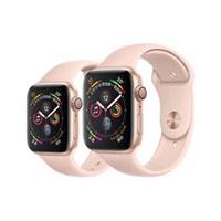 Apple Watch Series4 GPS版 金色鋁金屬錶殼搭配粉沙色運動型錶帶 40mm (MU682TA/A)