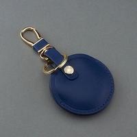 OMC專櫃品牌 義大利植鞣皮革(全套藍色)-gogoro鑰匙皮套 gogoro鑰匙套